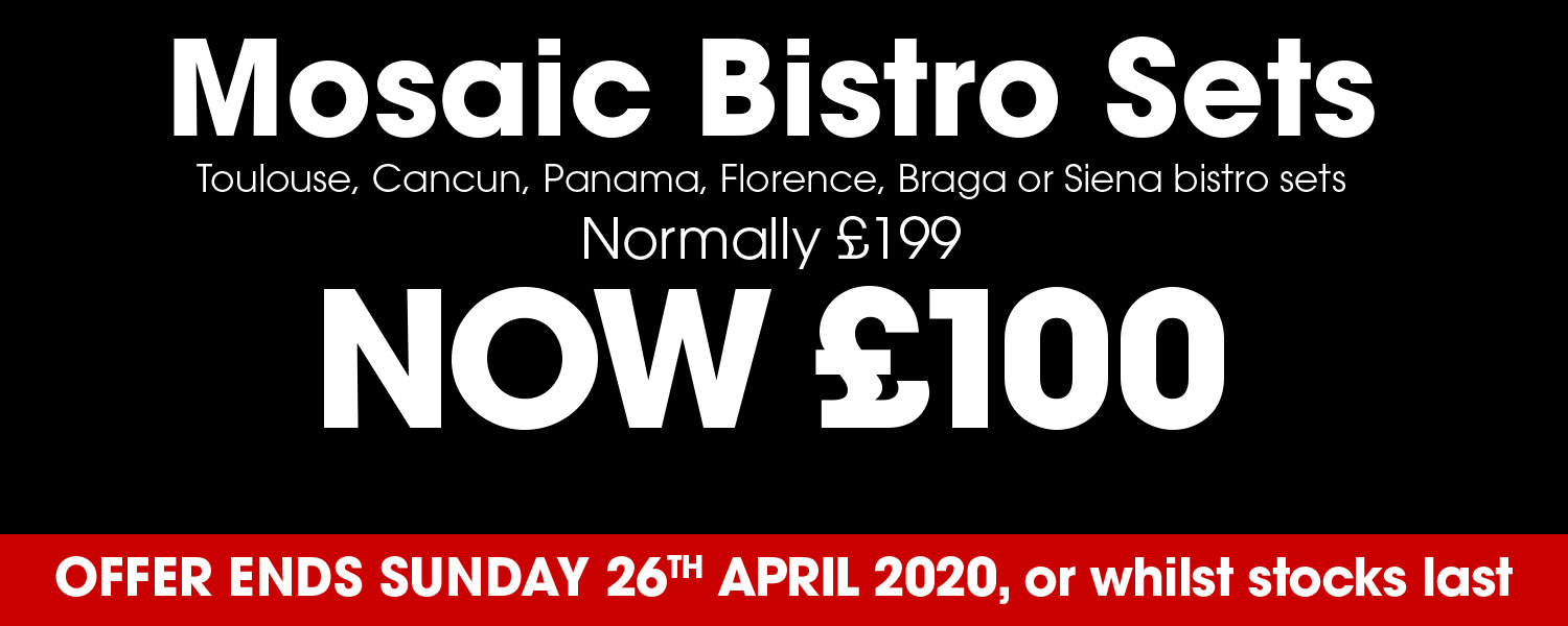 Bistro Offer Now £100 Normally £199